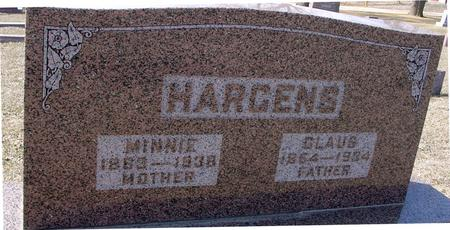 HARGENS, CLAUS & MINNIE - Ida County, Iowa | CLAUS & MINNIE HARGENS