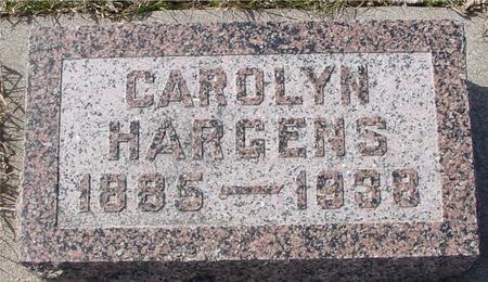 HARGENS, CAROLYN - Ida County, Iowa   CAROLYN HARGENS