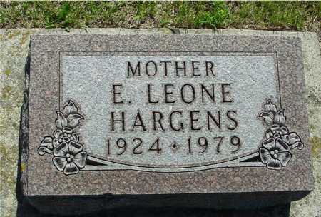 HARGENS, E. LEONE - Ida County, Iowa | E. LEONE HARGENS