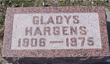 HARGENS, GLADYS - Ida County, Iowa   GLADYS HARGENS