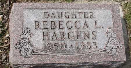 HARGENS, REBECCA L. - Ida County, Iowa | REBECCA L. HARGENS