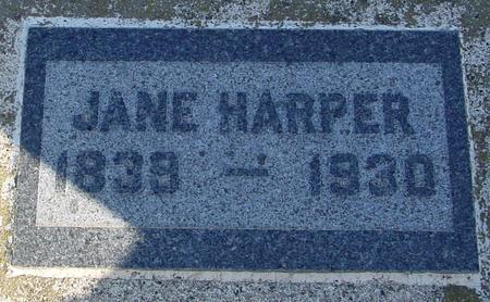 HARPER, JANE - Ida County, Iowa | JANE HARPER