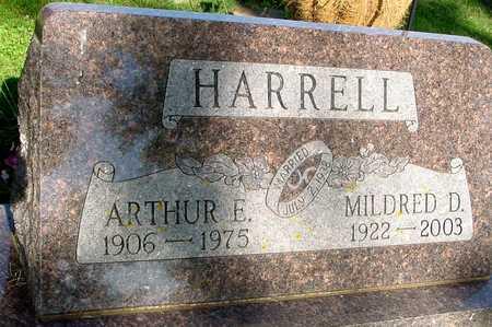 HARRELL, ARTHUR & MILDRED D. - Ida County, Iowa   ARTHUR & MILDRED D. HARRELL