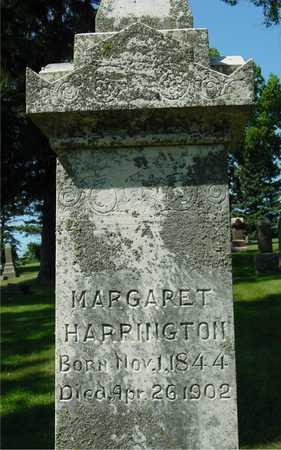 HARRINGTON, MARGARET - Ida County, Iowa   MARGARET HARRINGTON