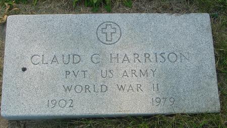 HARRISON, CLAUD C. - Ida County, Iowa | CLAUD C. HARRISON