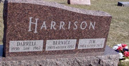 HARRISON, JIM & BERNICE - Ida County, Iowa | JIM & BERNICE HARRISON