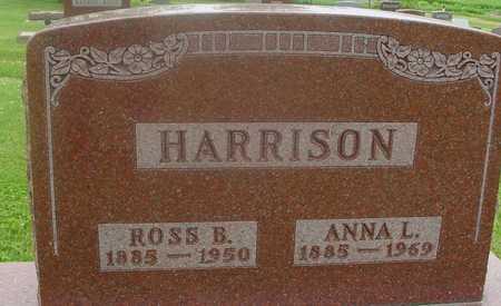HARRISON, ROSS & ANNA - Ida County, Iowa | ROSS & ANNA HARRISON