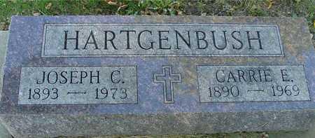HARTGENBUSH, JOSEPH & CARRIE - Ida County, Iowa   JOSEPH & CARRIE HARTGENBUSH