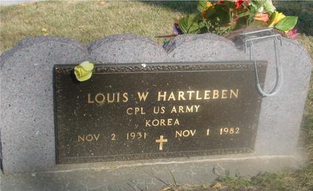 HARTLEBEN, LOUIS W. - Ida County, Iowa   LOUIS W. HARTLEBEN