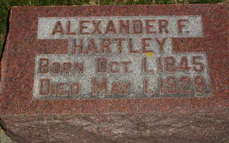 HARTLEY, ALEXANDER F. - Ida County, Iowa   ALEXANDER F. HARTLEY