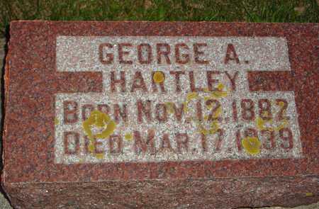 HARTLEY, GEORGE A. - Ida County, Iowa   GEORGE A. HARTLEY