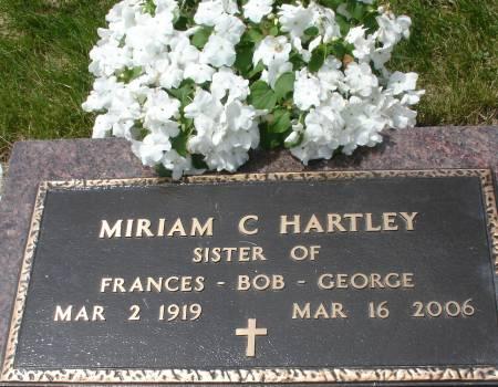 HARTLEY, MIRIAM C. - Ida County, Iowa | MIRIAM C. HARTLEY