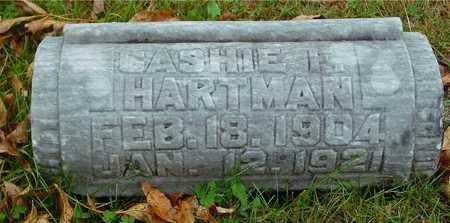 HARTMAN, CASHIE F. - Ida County, Iowa | CASHIE F. HARTMAN