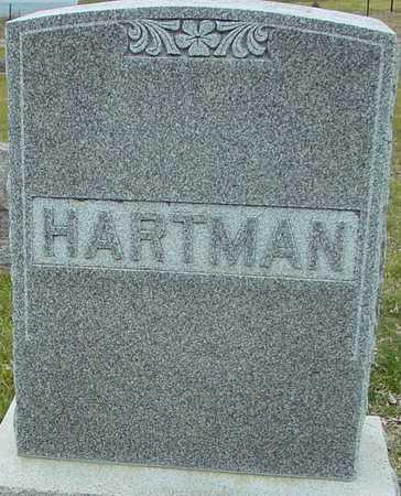 HARTMAN, FAMILY MARKER - Ida County, Iowa | FAMILY MARKER HARTMAN