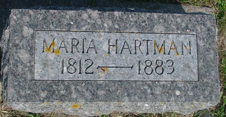 HARTMAN, MARIA - Ida County, Iowa | MARIA HARTMAN