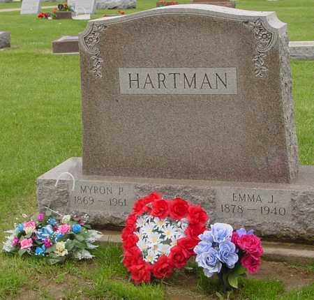 HARTMAN, MYRON & EMMA J. - Ida County, Iowa   MYRON & EMMA J. HARTMAN