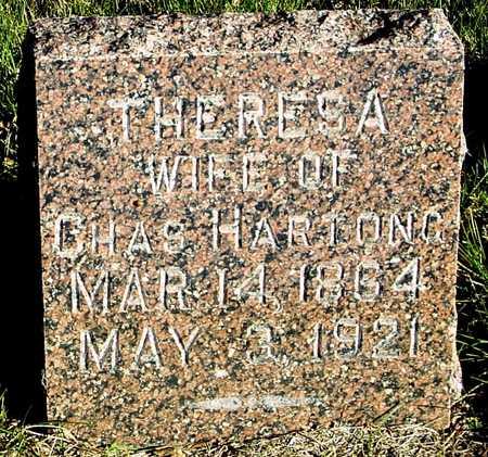 HARTONG, THERESA - Ida County, Iowa   THERESA HARTONG