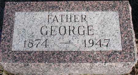 HARVEY, GEORGE - Ida County, Iowa   GEORGE HARVEY