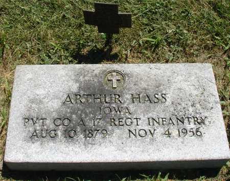 HASS, ARTHUR - Ida County, Iowa   ARTHUR HASS
