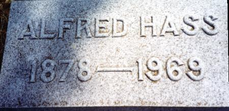 HASS, ALFRED - Ida County, Iowa | ALFRED HASS