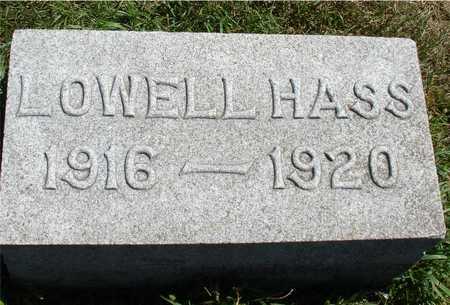 HASS, LOWELL - Ida County, Iowa | LOWELL HASS