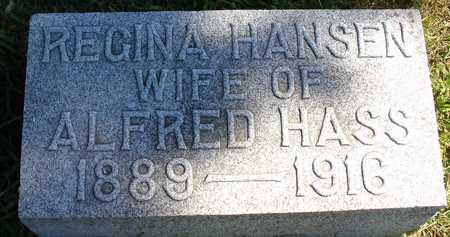 HANSEN HASS, REGINA - Ida County, Iowa | REGINA HANSEN HASS