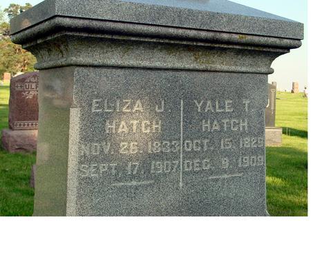 HATCH, YALE - Ida County, Iowa   YALE HATCH