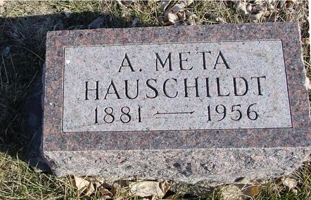 HAUSCHILDT, A. META - Ida County, Iowa   A. META HAUSCHILDT