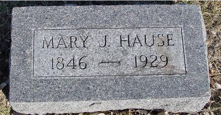HAUSE, MARY J. - Ida County, Iowa | MARY J. HAUSE