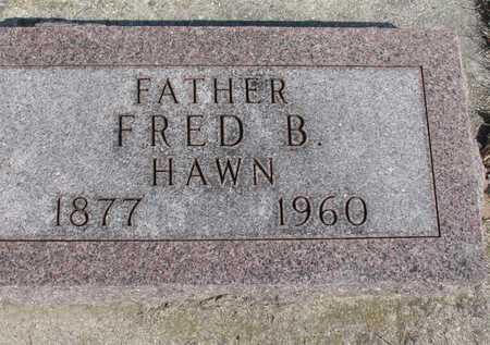 HAWN, FRED B. - Ida County, Iowa | FRED B. HAWN