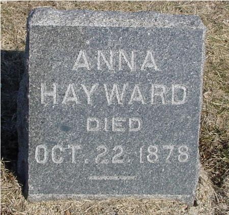 HAYWARD, ANNA - Ida County, Iowa | ANNA HAYWARD