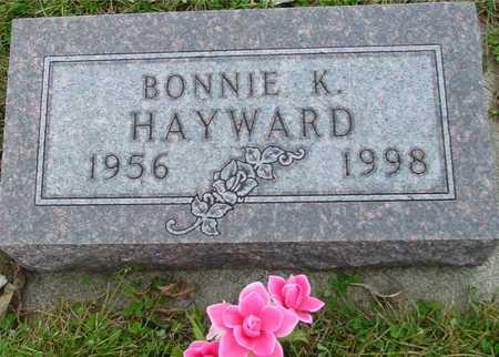 HAYWARD, BONNIE K. - Ida County, Iowa | BONNIE K. HAYWARD
