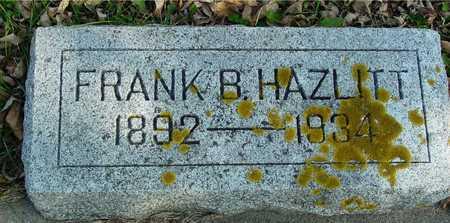 HAZLITT, FRANK B. - Ida County, Iowa | FRANK B. HAZLITT