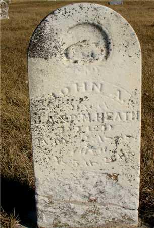 HEATH, JOHN A. - Ida County, Iowa   JOHN A. HEATH