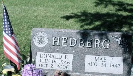 HEDBERG, DONALD - Ida County, Iowa   DONALD HEDBERG