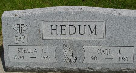 HEDUM, CARL - Ida County, Iowa | CARL HEDUM