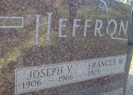 HEFFRON, JOSEPH V. - Ida County, Iowa | JOSEPH V. HEFFRON