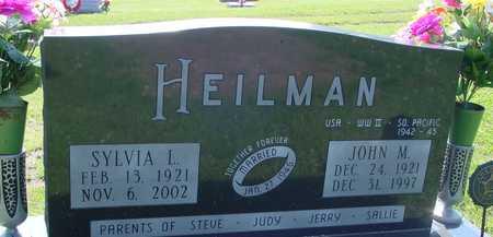HEILMAN, JOHN M. & SYLVIA L. - Ida County, Iowa | JOHN M. & SYLVIA L. HEILMAN