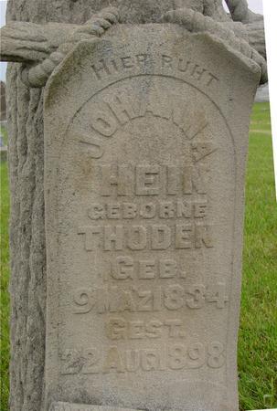 THODEN HEIN, JOHANNA - Ida County, Iowa | JOHANNA THODEN HEIN