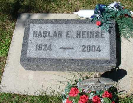 HEINSE, HARLAN E. - Ida County, Iowa | HARLAN E. HEINSE