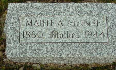 HEINSE, MARTHA - Ida County, Iowa   MARTHA HEINSE