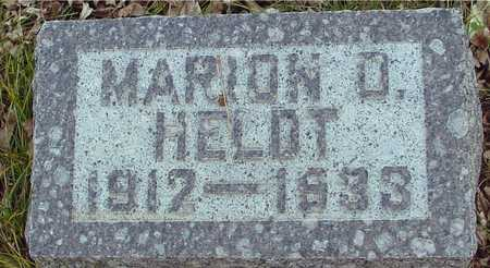 HELDT, MARION A. - Ida County, Iowa | MARION A. HELDT