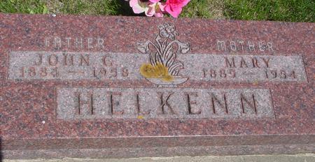 HELKENN, JOHN C. - Ida County, Iowa | JOHN C. HELKENN