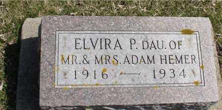 HEMER, ELVIRA - Ida County, Iowa | ELVIRA HEMER