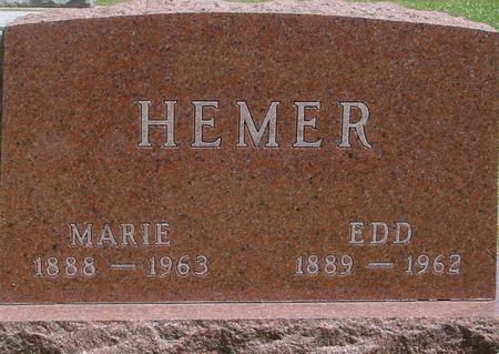 HEMER, EDD & MARIE - Ida County, Iowa | EDD & MARIE HEMER