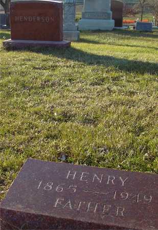 HENDERSON, HENRY - Ida County, Iowa   HENRY HENDERSON