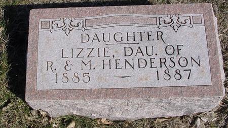 HENDERSON, LIZZIE - Ida County, Iowa | LIZZIE HENDERSON