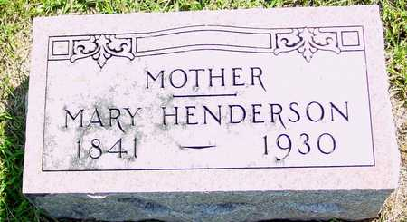 HENDERSON, MARY - Ida County, Iowa | MARY HENDERSON