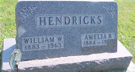 HENDRICKS, WILLIAM & AMELIA - Ida County, Iowa | WILLIAM & AMELIA HENDRICKS