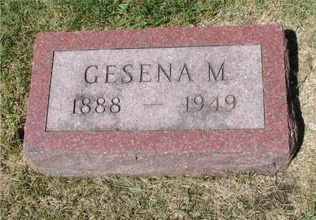 HENRICHSEN, GESENA M. - Ida County, Iowa   GESENA M. HENRICHSEN